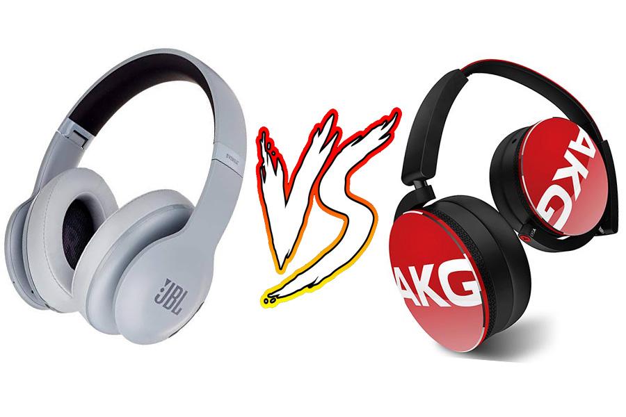 Headphone JBL atau AKG