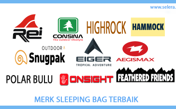 Merk Sleeping Bag Terbaik