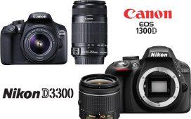 Canon 1300D vs Nikon D3300