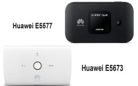 Huawei E5673 vs E5577
