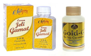Jelly Gamat Luxor vs Jelly Gamat Gold G