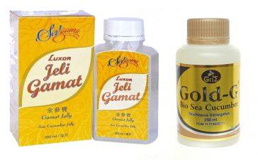 Jelly Gamat Luxor vs Jelly Gamat Gold G
