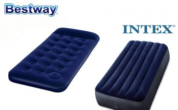 Kasur Angin Bestway vs Intex