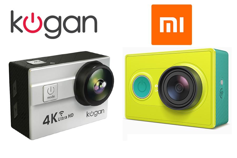 Kogan 4K vs Xiaomi Yi