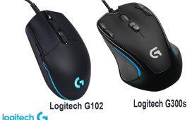 Logitech G102 vs G300S