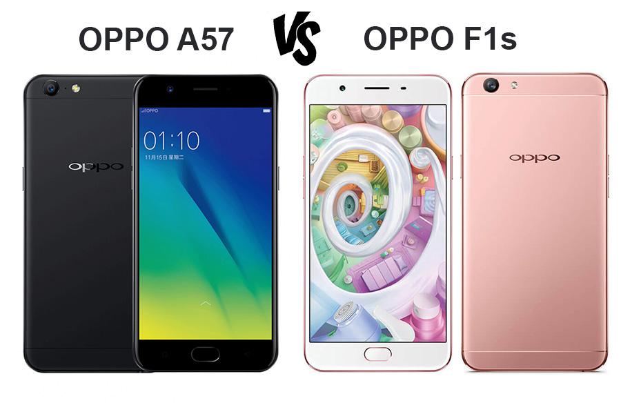 Oppo A57 vs Oppo F1s
