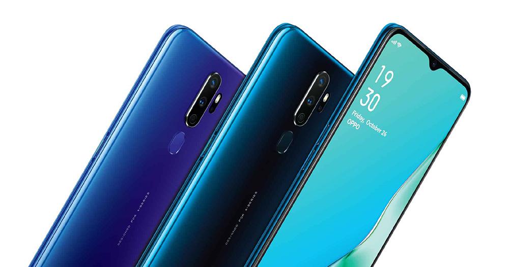 Oppo A9 2020 atau Samsung Galaxy A50