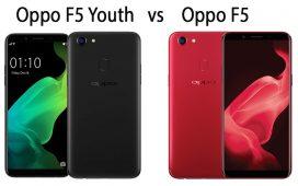 Oppo F5 Youth vs Oppo F5