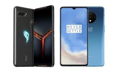 ROG Phone 2 vs Oneplus 7T