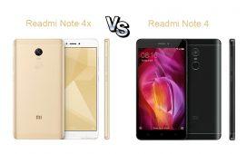 Redmi Note 4X vs Redmi Note 4