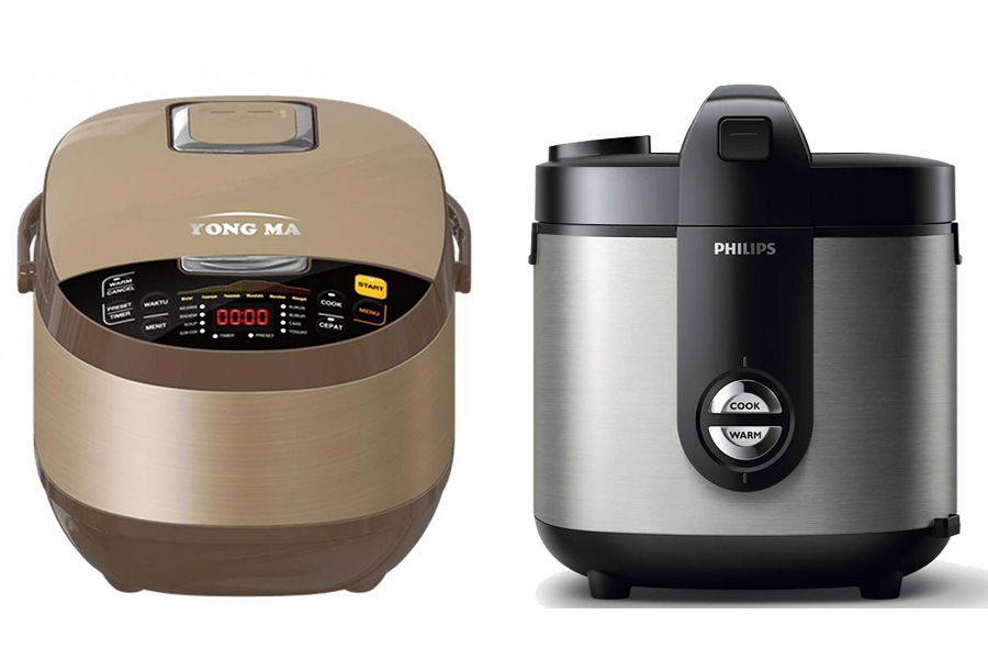 Cooker Yong Ma vs Philips