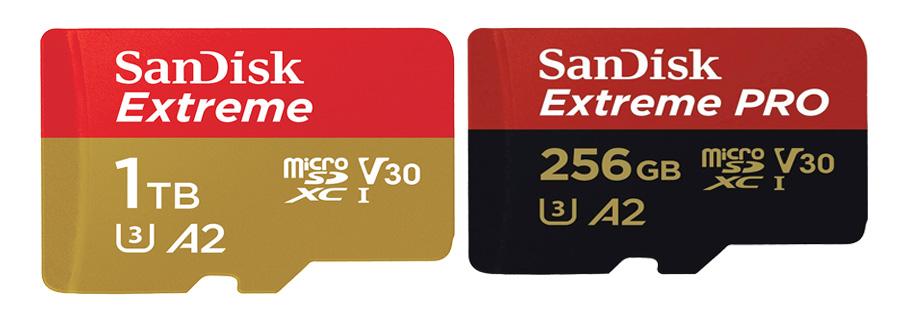 Sandisk Extreme vs Sandisk Extreme Pro