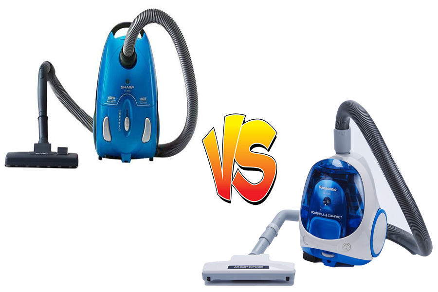 Vacuum Cleaner Sharp vs Panasonic