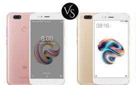 Xiaomi Mi A1 vs Mi 5X