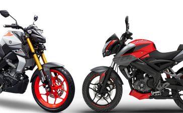 Yamaha MT-15 vs Kawasaki Bajaj Pulsar NS 200