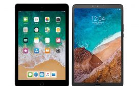 iPad 6 2018 vs Mi Pad 4 Plus