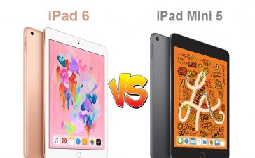iPad 6 vs iPad Mini 5
