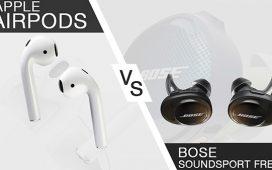 Pilih Mana: Bose Soundsport Free vs Airpods 2