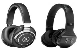 Headphone Audio Technica vs JBL