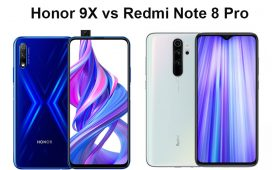 Honor 9X vs Redmi Note 8 Pro