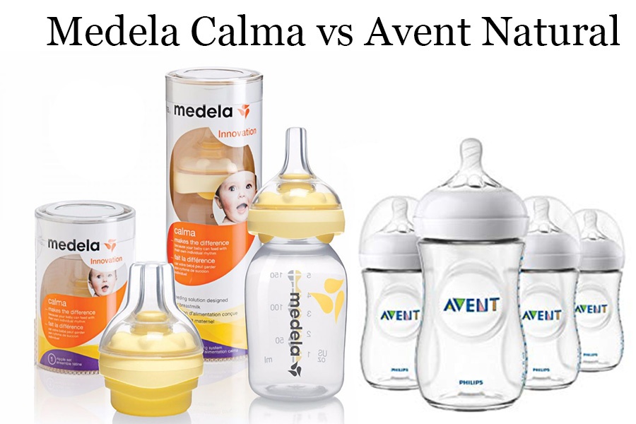 Medela Calma vs Avent Natural