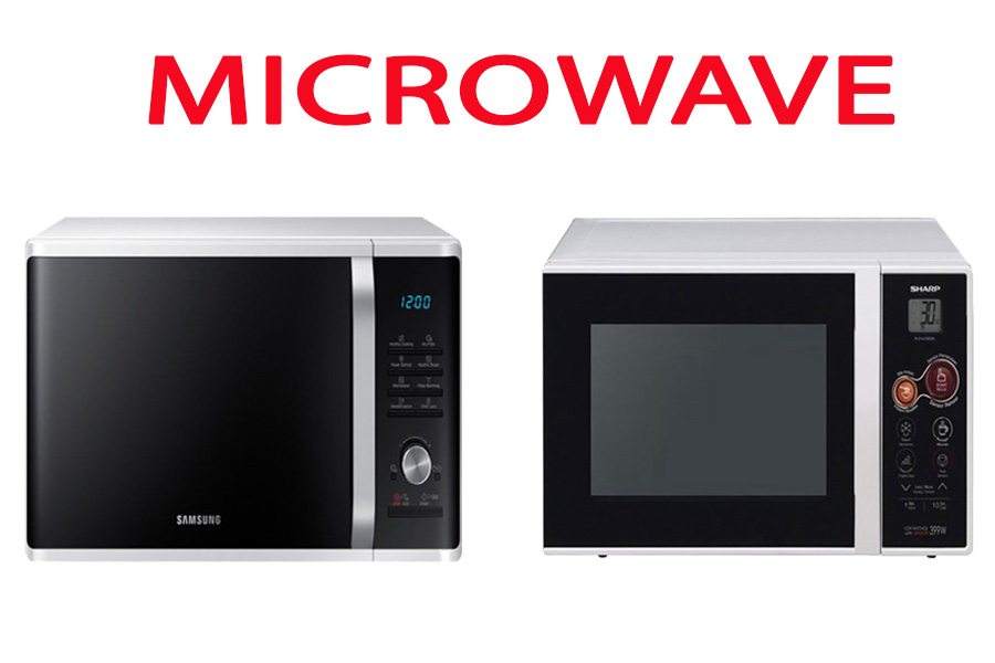 Microwave Samsung vs Sharp