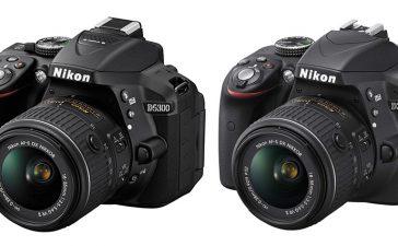 Nikon D5300 atau Nikon D3300