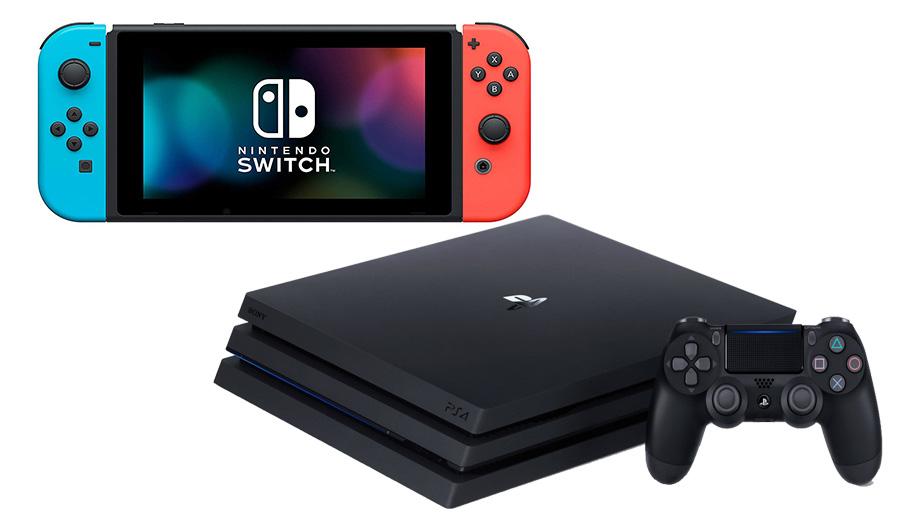 Nintendo Switch atau PS4