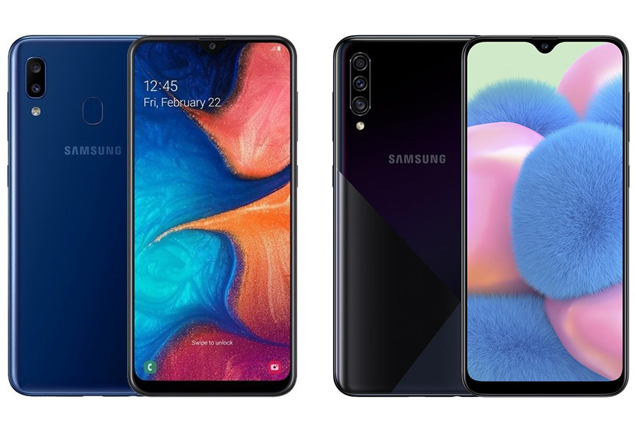 Samsung Galaxy A20S vs A30S