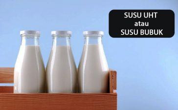 Susu UHT atau Susu Bubuk