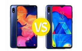 PilihMana Samsung Galaxy A10 atau M10