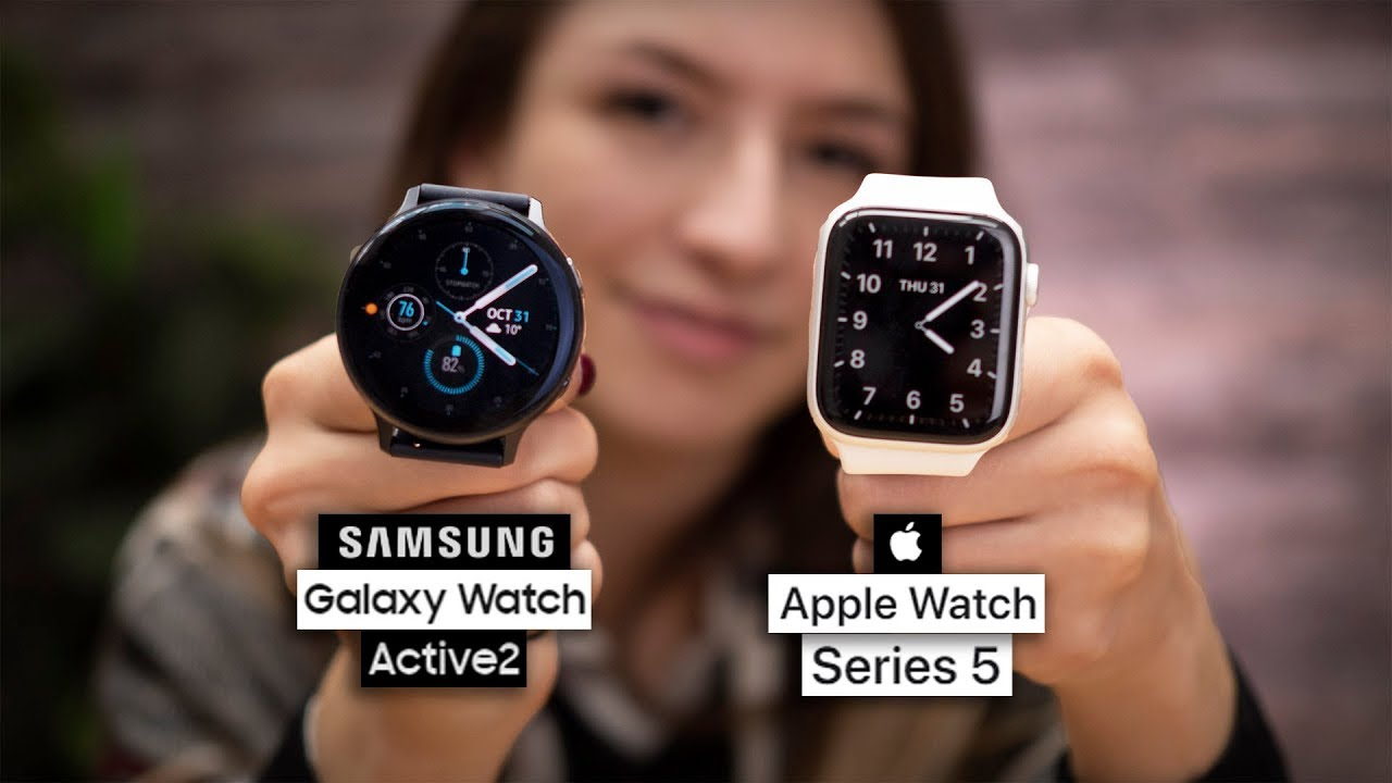 Smartwatch Apple vs Samsung