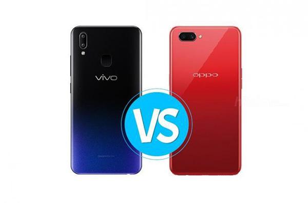 Vivo Y91 atau Oppo A5S