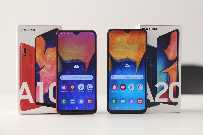 pilih mana Samsung Galaxy A10 atau A20