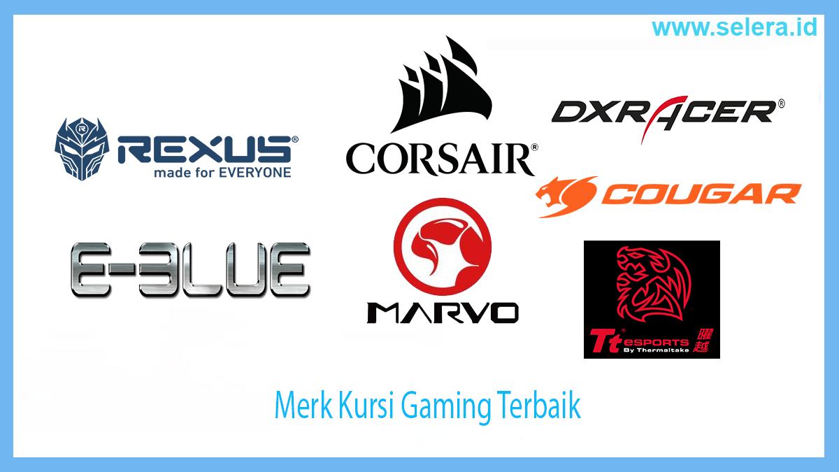 Merk Kursi Gaming Terbaik