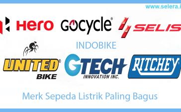 Merk Sepeda Listrik Paling Bagus