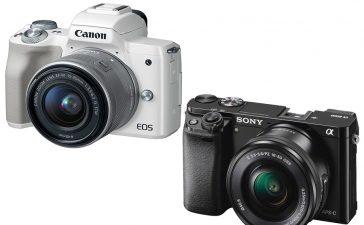 Canon M50 vs Sony A6000