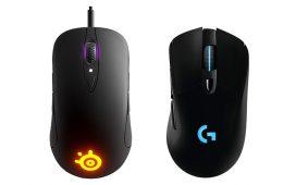 Mouse SteelSeries vs Mouse Logitech
