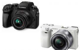 Panasonic Lumix G7 vs Sony A6000