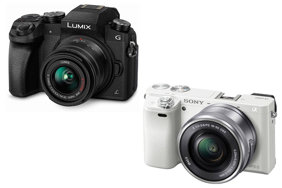 Panasonic Lumix G7 vs Sony A6000