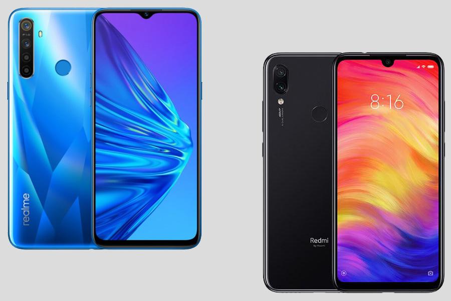 Realme 5 atau Xiaomi Redmi Note 7