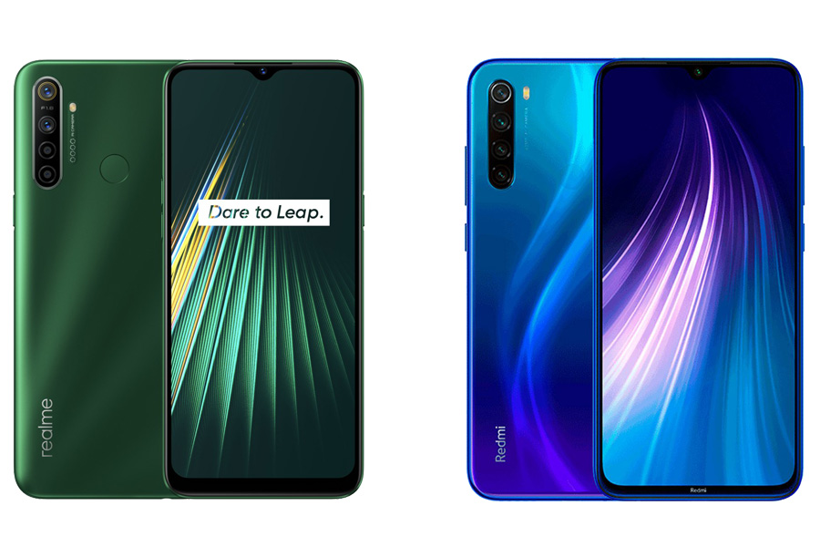 Realme 5i vs Redmi Note 8