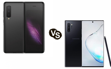 Pilih Mana: Samsung Galaxy Fold vs Note 10 Plus