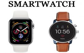 Smartwatch Apple vs Fossil