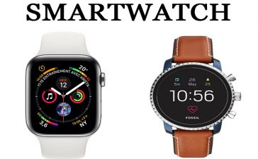 Smartwatch Apple vs Fossil