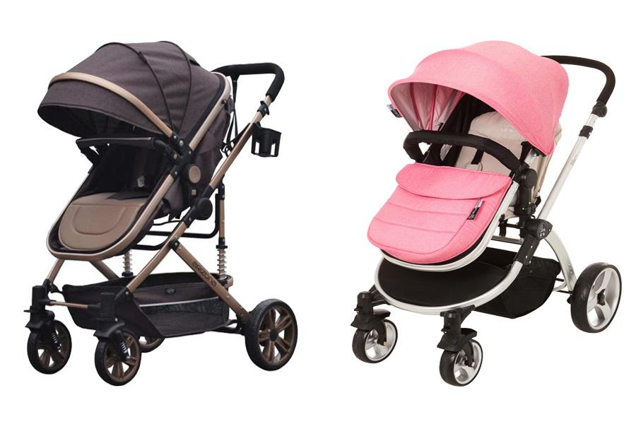 Stroller Pliko vs Baby Elle