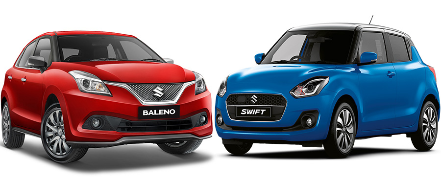 Suzuki Baleno vs Suzuki Swift