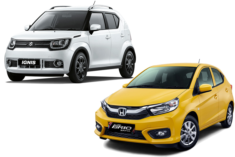 Suzuki Ignis Facelift atau Honda Brio