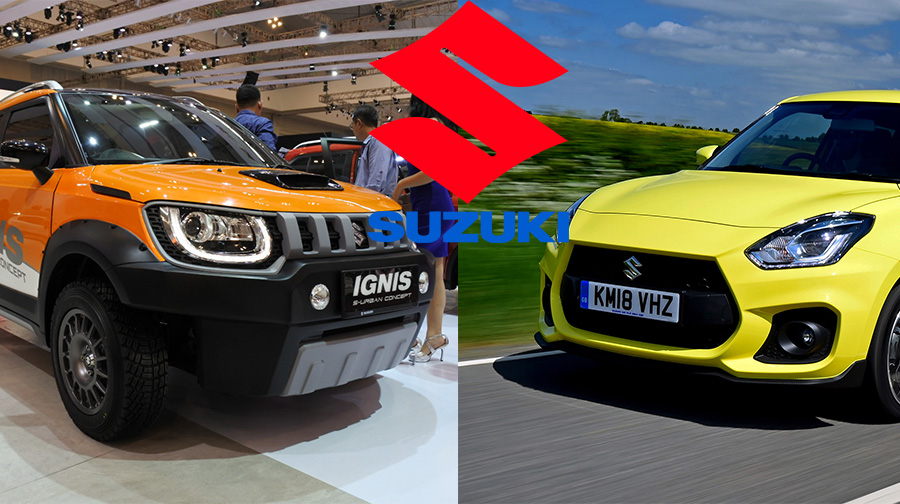 Suzuki Ignis Facelift vs Suzuki Swift