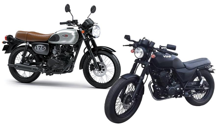 Viar Vintech 200 vs Kawasaki W175